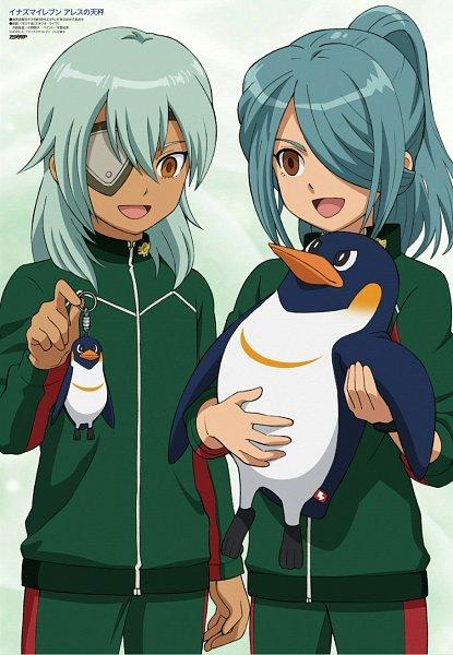 Tags: Anime, Level-5, Inazuma Eleven Orion no Kokuin, Inazuma Eleven, Kazemaru Ichirouta, Sakuma Jirou, Stuffed Penguin, Key Chains, Official Art, Inazuma Eleven Mark Of Orion
