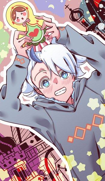 Tags: Anime, Oriental Light and Magic, Inazuma Eleven Orion no Kokuin, Inazuma Eleven, Froy Girikanan, Girikanan, Russian Doll, Matryoshka, Inazuma Eleven Mark Of Orion
