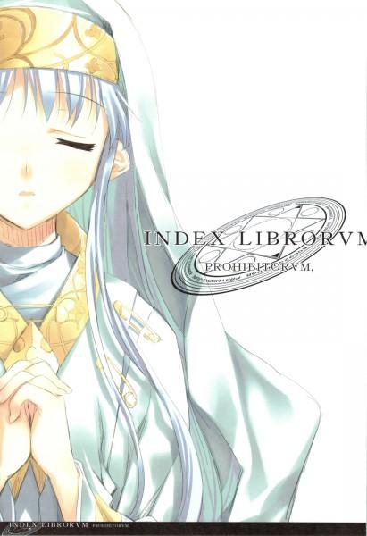 Tags: Anime, Kagome (Pixiv107450), To Aru Majutsu no Index, INDEX LIBRORVM PROHIBITORVM, Index, Scan
