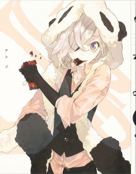 Tags: Anime, Pako, UN-GO, Inga, Pandamimi, Official Art, Scan, DVD (Source)