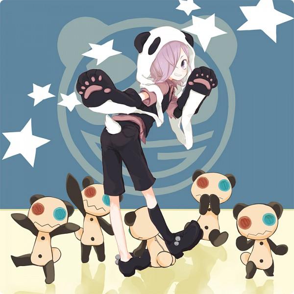 Tags: Anime, Bear (Artist), UN-GO, Inga, Panda Hat