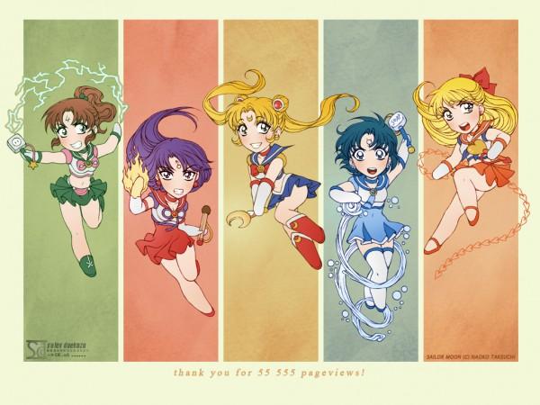 Tags: Anime, Daekazu, Bishoujo Senshi Sailor Moon, Sailor Moon (Character), Sailor Mars, Hino Rei, Sailor Venus, Mizuno Ami, Tsukino Usagi, Sailor Jupiter, Kino Makoto, Sailor Mercury, Aino Minako
