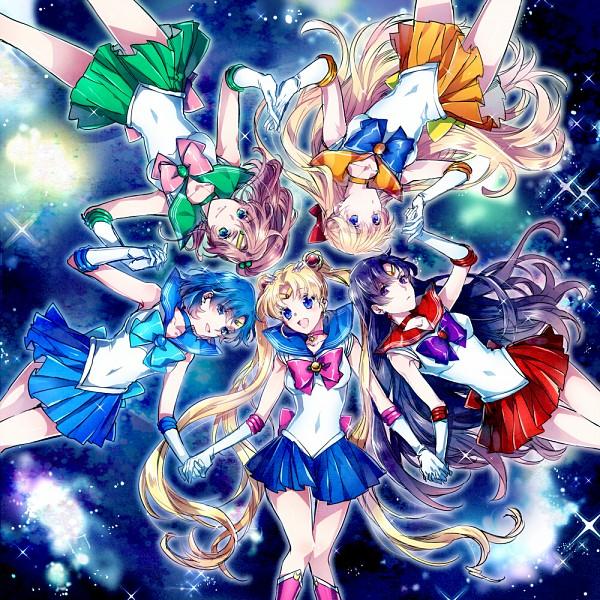 Tags: Anime, Nakagawa Waka, Bishoujo Senshi Sailor Moon, Mizuno Ami, Tsukino Usagi, Sailor Jupiter, Kino Makoto, Sailor Mercury, Aino Minako, Sailor Moon (Character), Sailor Mars, Hino Rei, Sailor Venus
