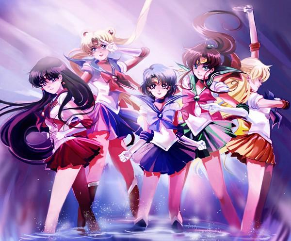 Tags: Anime, Athena-chan, Bishoujo Senshi Sailor Moon, Sailor Mercury, Kino Makoto, Sailor Moon (Character), Sailor Mars, Aino Minako, Hino Rei, Sailor Venus, Mizuno Ami, Tsukino Usagi, Sailor Jupiter