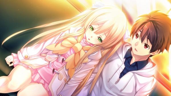 Tags: Anime, Oosaki Shinya, CINEMATOGRAPH, Innocent Bullet -the false world-, Nachi Yuuji, Yasouji Ai, Wallpaper, CG Art