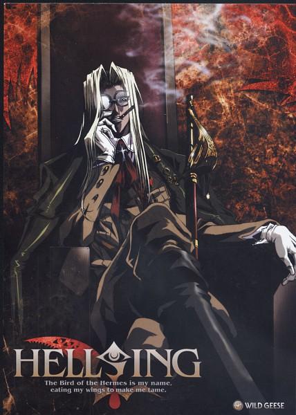 Tags: Anime, HELLSING, Integra Hellsing, Scan, Mobile Wallpaper, Official Art