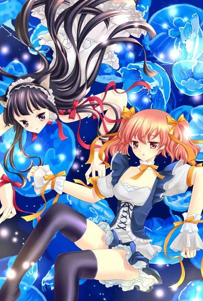 Tags: Anime, Pixiv Id 1398304, Inu x Boku SS, Shirakiin Ririchiyo, Roromiya Karuta