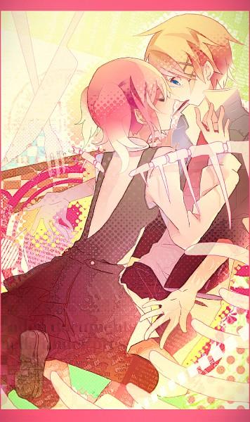 Tags: Anime, Miwasiba, Inu x Boku SS, Watanuki Banri, Roromiya Karuta, Fanart, Fanart From Pixiv, Mobile Wallpaper, Pixiv