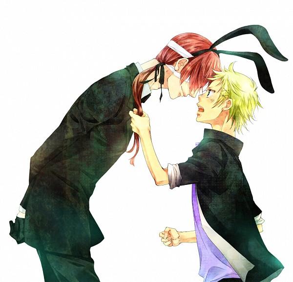 Tags: Anime, Hanagosui, Inu x Boku SS, Watanuki Banri, Natsume Zange, Pulling Hair