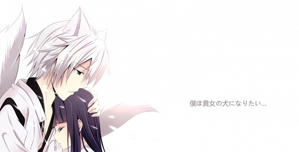 Tags: Anime, Pixiv Id 3236596, Inu x Boku SS, Miketsukami Soushi, Shirakiin Ririchiyo, Pixiv