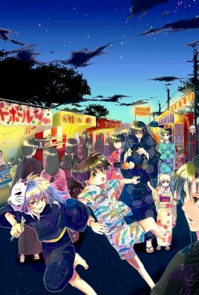 Tags: Anime, Pixiv Id 449539, InuYasha, Miroku, Higurashi Kagome, Kanna (InuYasha), Sango, Naraku, Rin (InuYasha), InuYasha (Character), Sesshoumaru, Kohaku (InuYasha), Kagura (InuYasha)