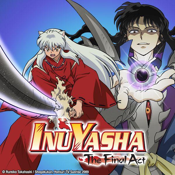 Tags: Anime, Hishinuma Yoshihito, Sunrise (Studio), InuYasha, Naraku, InuYasha (Character), Tetsusaiga, Shikon No Tama, Official Art, Key Visual