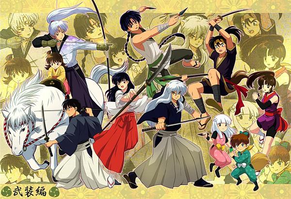Tags: Anime, Tennen Shiori, InuYasha, Sango, Rin (InuYasha), Sesshoumaru, Bankotsu, InuYasha (Character), Higurashi Kagome, Miroku, Shippo, Kouga (InuYasha), Kanna (InuYasha)