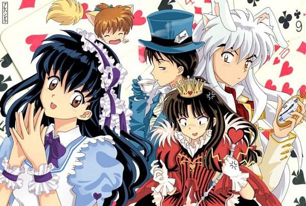 Tags: Anime, InuYasha, Sango, Higurashi Kagome, Shippo, InuYasha (Character), Miroku, Alice (Alice in Wonderland) (Cosplay), Mad Hatter (Cosplay), Alice in Wonderland (Parody), Queen of Hearts (Cosplay), deviantART