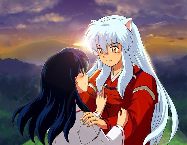 Tags: Anime, Tennen Shiori, InuYasha, InuYasha (Character), Higurashi Kagome, Fanart, Pixiv