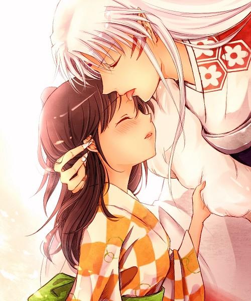 Tags: Anime, Kin'Iro Nyanko, InuYasha, Sesshoumaru, Rin (InuYasha)