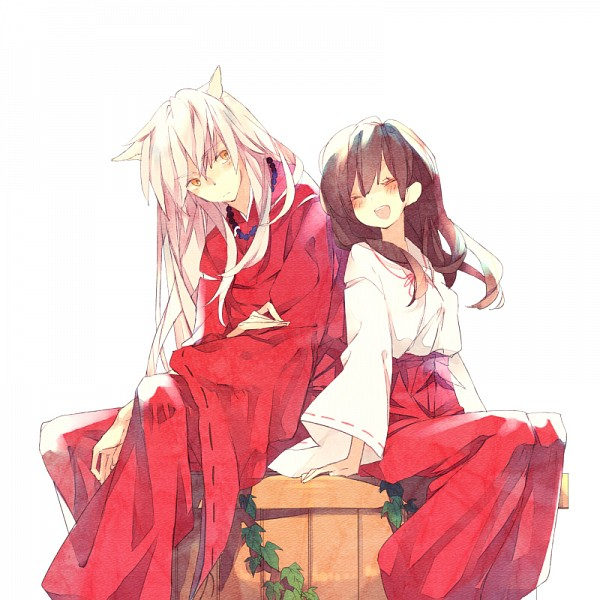 Tags: Anime, Pixiv Id 1404999, InuYasha, InuYasha (Character), Higurashi Kagome, Well, Pixiv