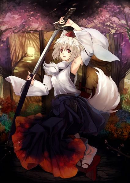 Tags: Anime, Ken553, Touhou, Inubashiri Momiji, Fanart, Fanart From Pixiv, Pixiv, Momiji Inubashiri