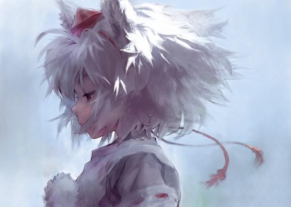 Tags: Anime, Matsukichi, Touhou, Inubashiri Momiji, Fanart, Pixiv, Momiji Inubashiri