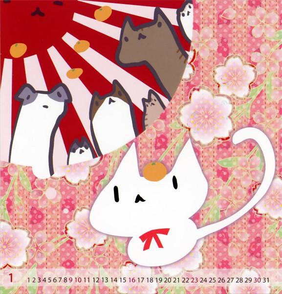 Tags: Anime, Inugami Kira, 2011 Mini Calender, Pixiv