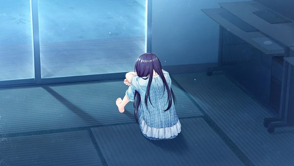 Tags: Anime, Alpha, AKABEi SOFT2, Boku no Hitori Sensou, Inuzuka Rumi, Wallpaper, CG Art