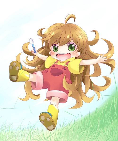 Tags: Anime, Yume Shokunin, Amaama to Inazuma, Inuzuka Tsumugi, Pixiv