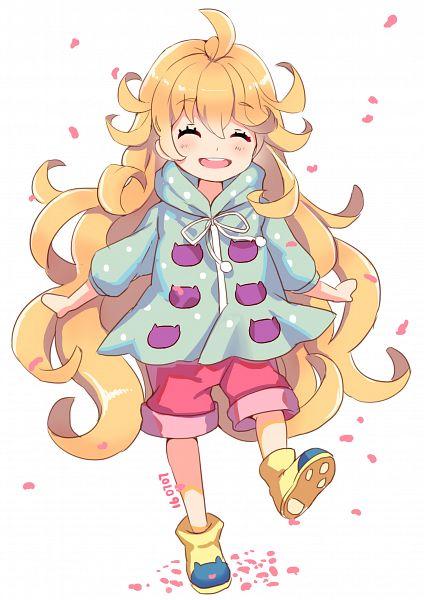 Tags: Anime, Pixiv Id 4045560, Amaama to Inazuma, Inuzuka Tsumugi, Mobile Wallpaper