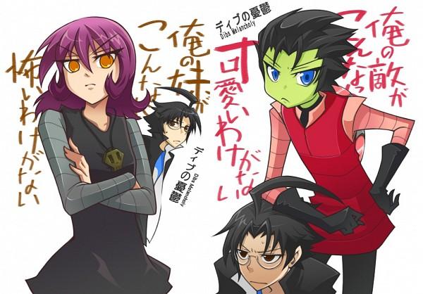 Tags: Anime, Invader Zim, Gaz, Dib, Zim, Ore no Imouto ga Konna ni Kawaii Wake ga Nai (Parody), Artist Request, Fanart