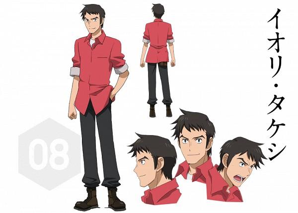 Iori Takeshi - Gundam Build Fighters