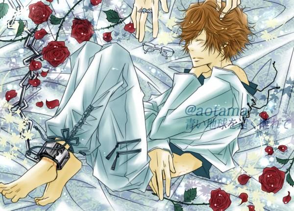 Tags: Anime, Aotama, Katekyo Hitman REBORN!, Irie Shouichi, Shackles, Bite Marks, Artist Request