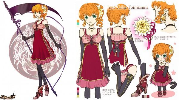 Tags: Anime, BROCCOLI, End Breaker!, Irina Callas, Character Sheet