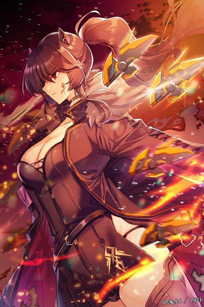 Tags: Anime, Pixiv Id 11668466, Soul Worker, Iris Yuma (Soul Worker), Pixiv, Fanart, Fanart From Pixiv
