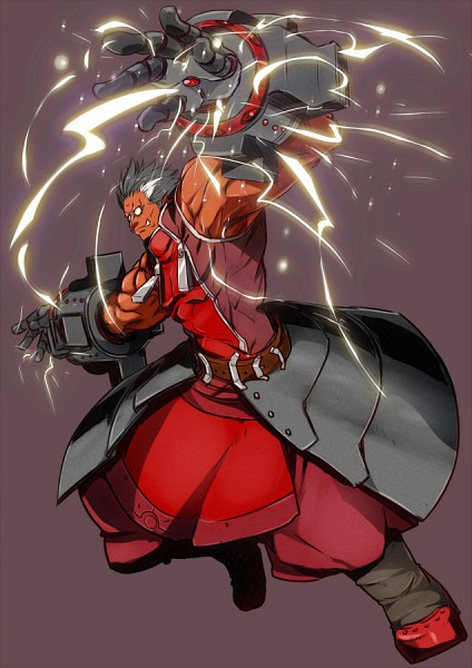 Iron Tager - BlazBlue
