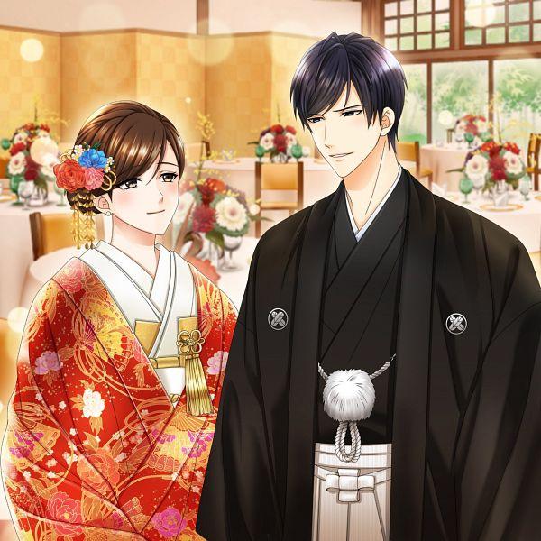 Tags: Anime, Voltage Inc. (Studio), Irresistible Mistakes, Toshiaki Kijima, Heroine (Irresistible Mistakes), Japanese Wedding, CG Art