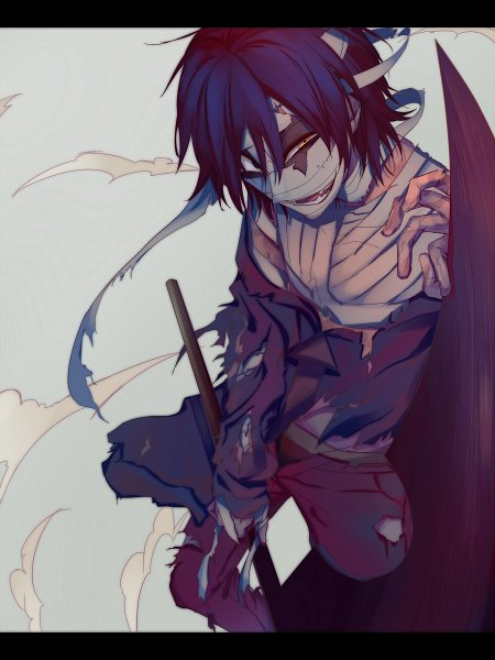 Tags: Anime, Yoshikatu, Satsuriku no Tenshi, Isaac Foster, Wallpaper, Fanart, Fanart From Pixiv, Pixiv