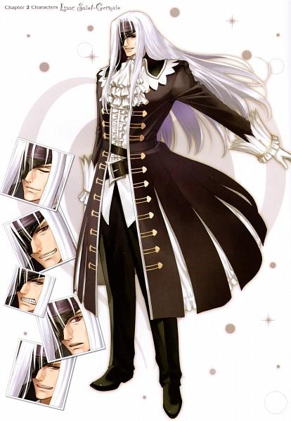 Tags: Anime, Tony Taka, Shining Hearts: Collection of Visual Materials, Shining Hearts, Isaac Saint-Germain, Official Art, Scan