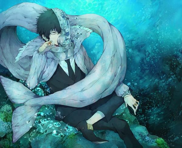 Tags: Anime, Rinnagi, Oumagadoki Doubutsuen, Isana, Whale, Pixiv, Fanart