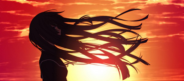 Tags: Anime, Ayinusu00, Ga-Rei Zero, Isayama Yomi, Facebook Cover, Fanart, Pixiv