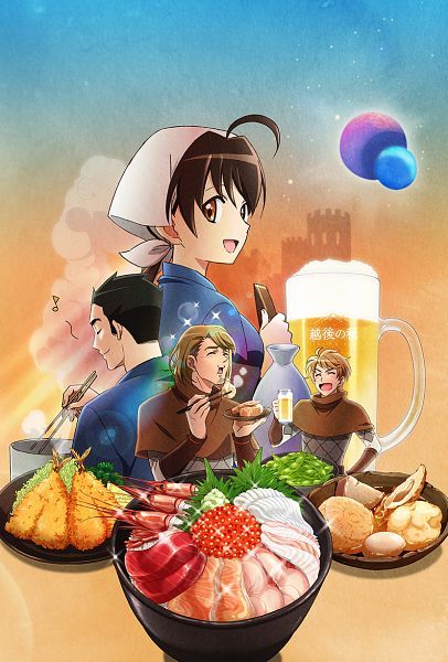 Tags: Anime, Ito Mariko, Sunrise (Studio), Isekai Izakaya