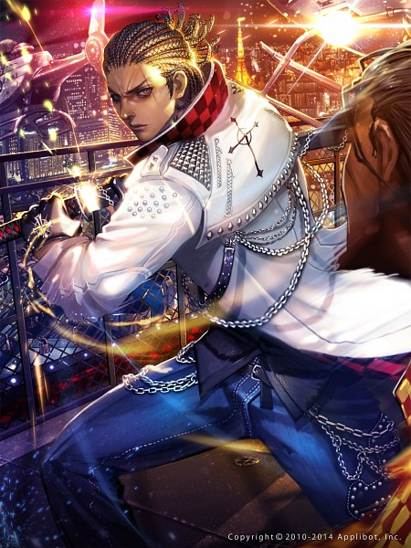 Tags: Anime, Xaxak, Applibot, Furyou Michi ~Gang Road~, Iseya Azumi, Mobile Wallpaper, Official Art, Pixiv, Official Card Illustration