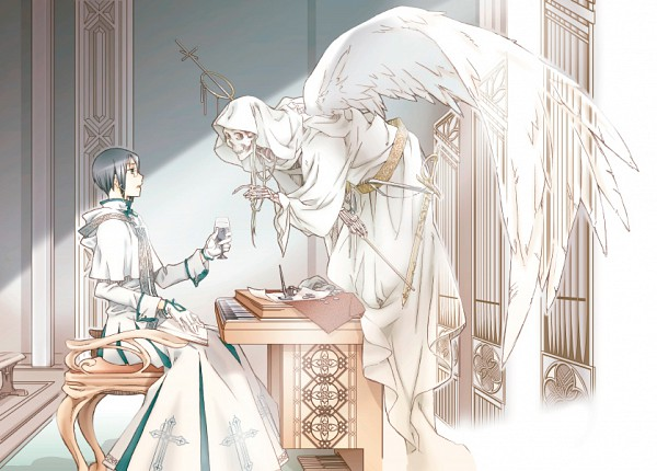 Tags: Anime, Usa (Pixiv157374), BLEACH, Grim Reaper, Ishida Uryuu, Quincy