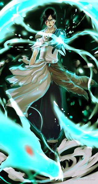 Tags: Anime, Rusky-boz, BLEACH, Ishida Uryuu, Mobile Wallpaper
