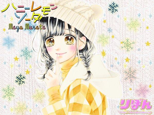 Tags: Anime, Murata Mayu, Honey Lemon Soda, Ishimori Uka, Official Art, Official Wallpaper, Wallpaper