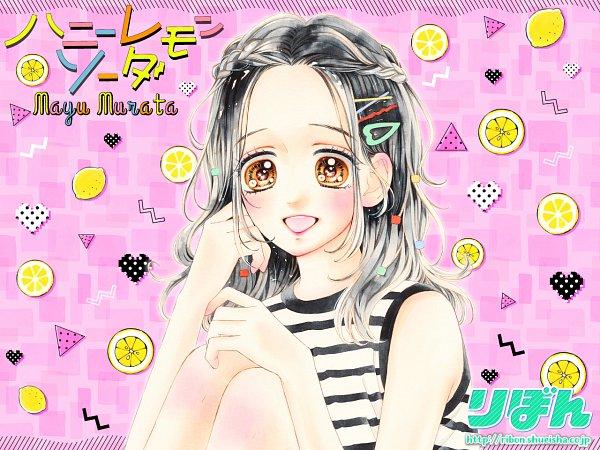 Tags: Anime, Murata Mayu, Honey Lemon Soda, Ishimori Uka, Wallpaper, Official Art, Official Wallpaper
