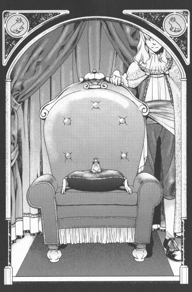 Tags: Anime, Ishiyama Keiko, Frog Prince, Grimms Manga, Scan, Official Art, Manga Page, Chapter Cover