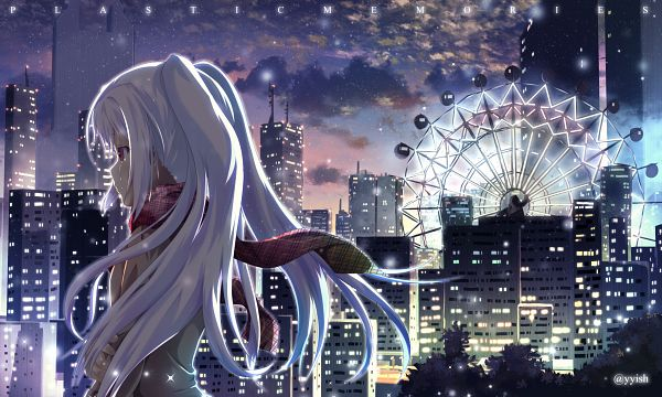 Tags: Anime, Pixiv Id 4147414, Plastic Memories, Isla (Plastic Memories), PNG Conversion
