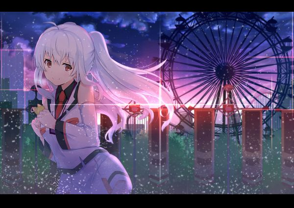 Tags: Anime, Pixiv Id 1526074, Plastic Memories, Isla (Plastic Memories), Amusement Park