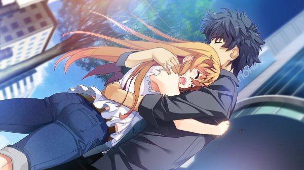 Tags: Anime, Island (VN), Kurutsu Karen, Sanzenkai Setsuna, CG Art