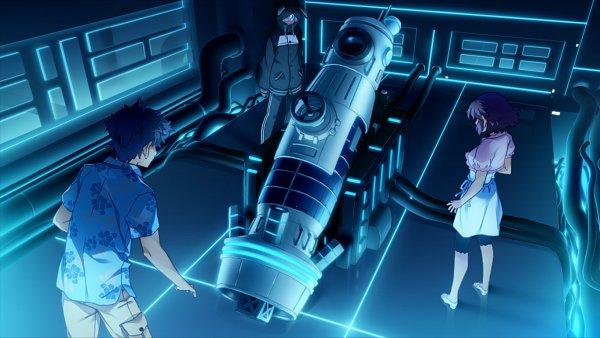 Tags: Anime, Island (VN), Linne O'hara, Yamabuki Momoka, Sanzenkai Setsuna, Hawaiian Shirt, CG Art