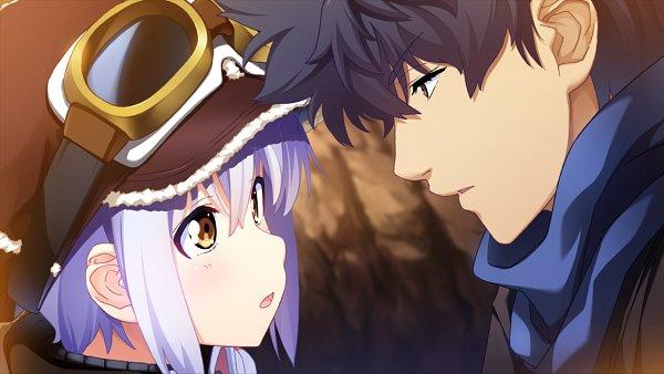 Tags: Anime, Mahou Sensei Negima!, Island (VN), Sakurazaki Setsuna, Linne O'hara, CG Art